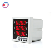 2018 Hot Selling auto voltmeter analog 400v with RS485 best price
