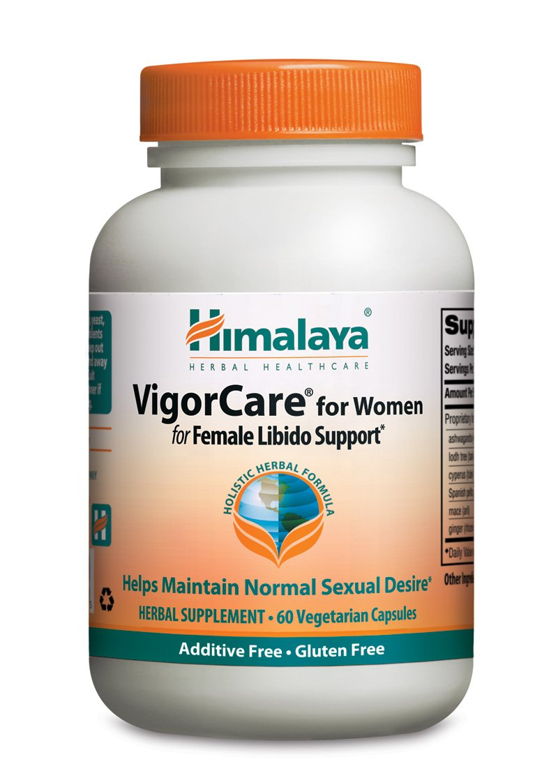 Himalaya Herbal Healthcare VigorCare for Women/Vigoreve, Female Libido Support, 60 Vcaps, 820 mg