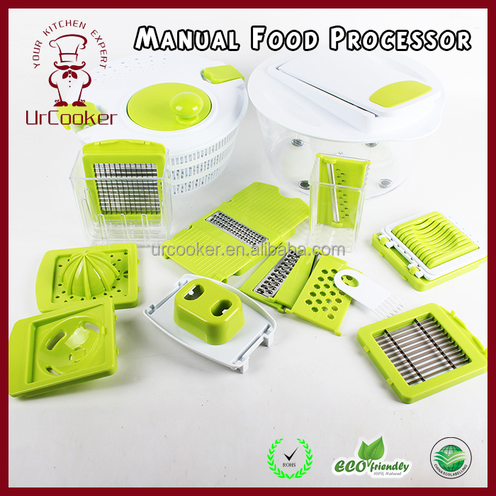 Green Hand tool vegetable food chopper/salad maker/manual machines