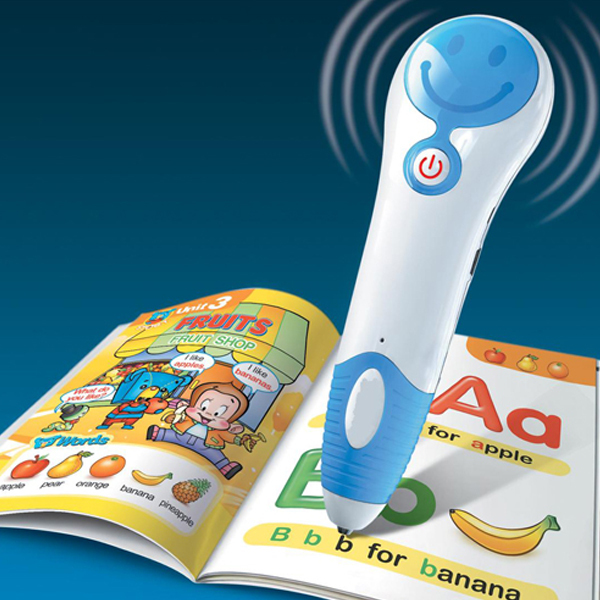 Smile Face Kids Talking Pen With English Learning Book