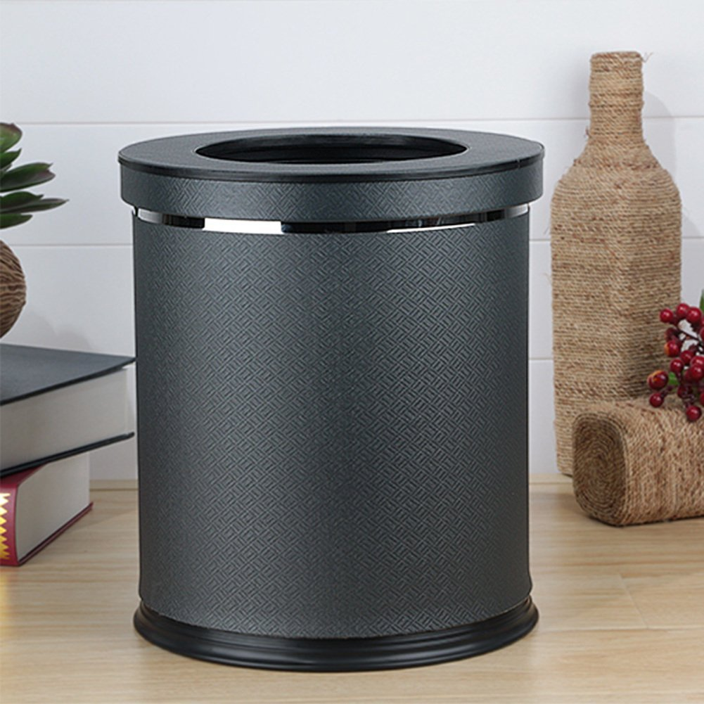 European-style household living room trash can/Kitchen bathroom trash/Creative simplicity trash-L