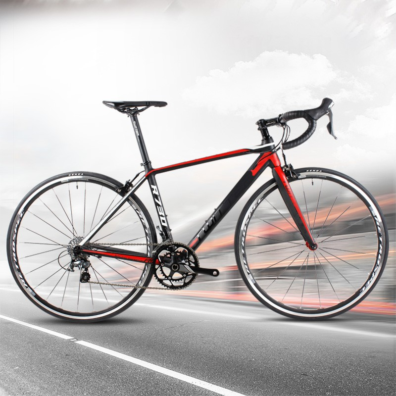 44CM/48CM/52CM frame size cheap aluminum 7005 road bike 20speed