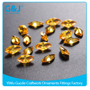Guojie brand wholesale price special Shape in Bulke apply shoes Loose Stones crystal
