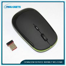 2.4g cordless wireless mouse , H0T036 , new product thin mouse 2.4ghz wireless mouse with micro-receiver