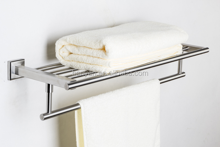 Hotel Design Wall Mounted Ladder Vertical Towel Rack For