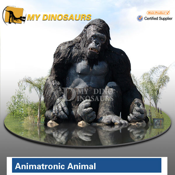Animal figures life size king kong for sale