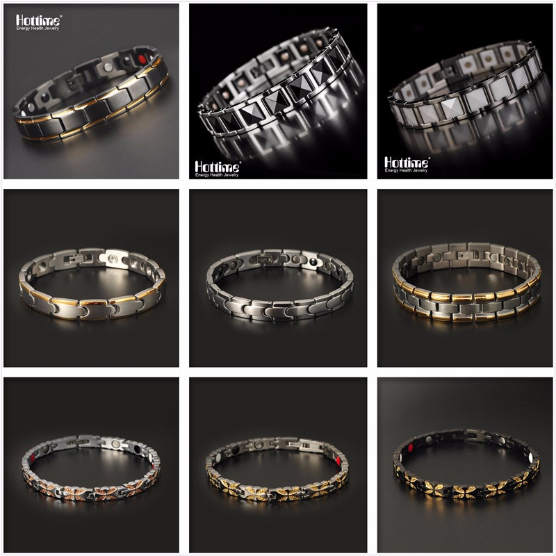 China Factory Wholesale Magnetic Fashion 316L Stainless Steel Jewelry