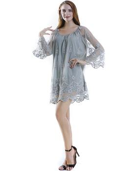 St019d006 Fashion Tulle Dress Women Lace Plus Size Blouses - Buy African  Lace Designs Lace Blouse,Cotton Tulle Lace,Fashion Lace Patchwork Dress ...