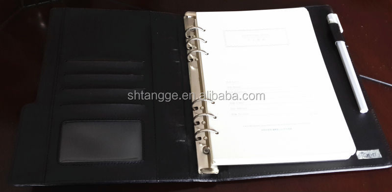 2013 New Business Stationery Notebook And Pen Gift Set