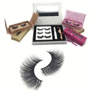 Free Sample Eyelashes Private Label False Eyelash Case Colourful Eyelashes