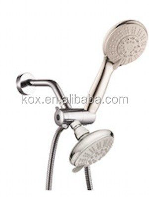 Bath Accessories Hand Shower Head Rainfull Massage shower combo with Bonus Low-Reach Bracket