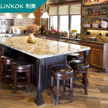 Amerikanischen Traditionellen Küche Insel Buche Massivholz Küchen