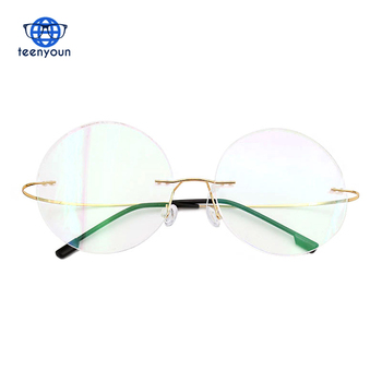 7445971a05ca Fashion Frame Brand designer Men Glasses Reading Glasses Optical  Prescpriton Lenses Round Titanium Eyeglasses