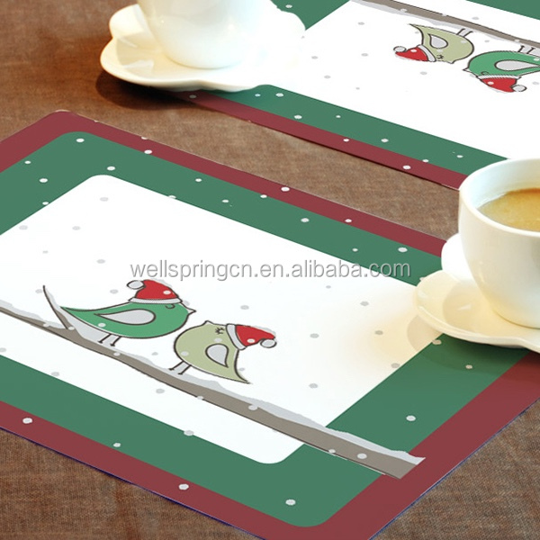 Hot sales table deco cheap customized rattan placemats
