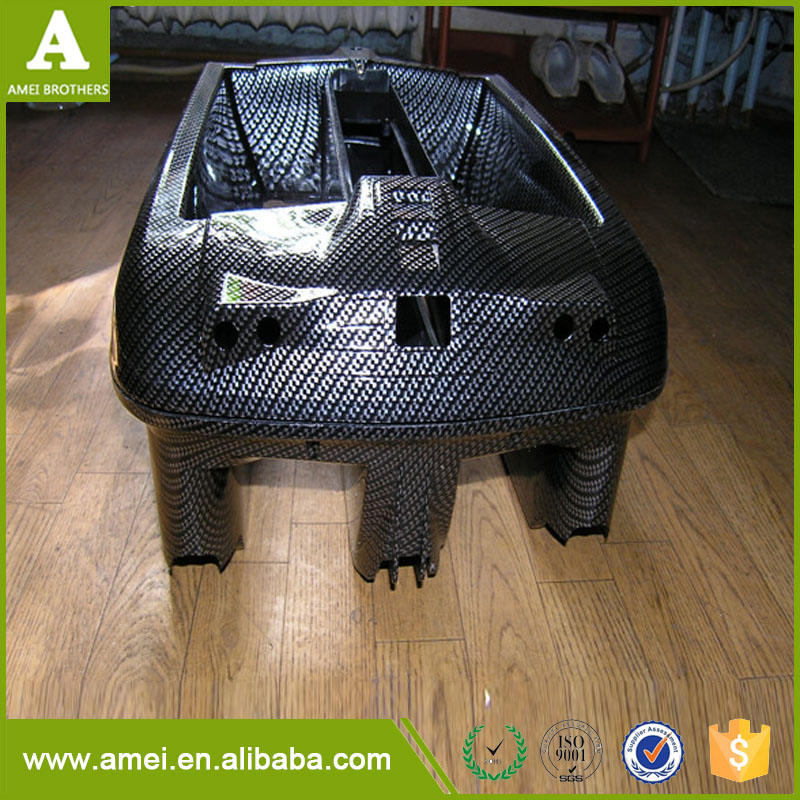 Vacuum Forming Plastic Bait boat Cover Hulls Made in ShenZhen