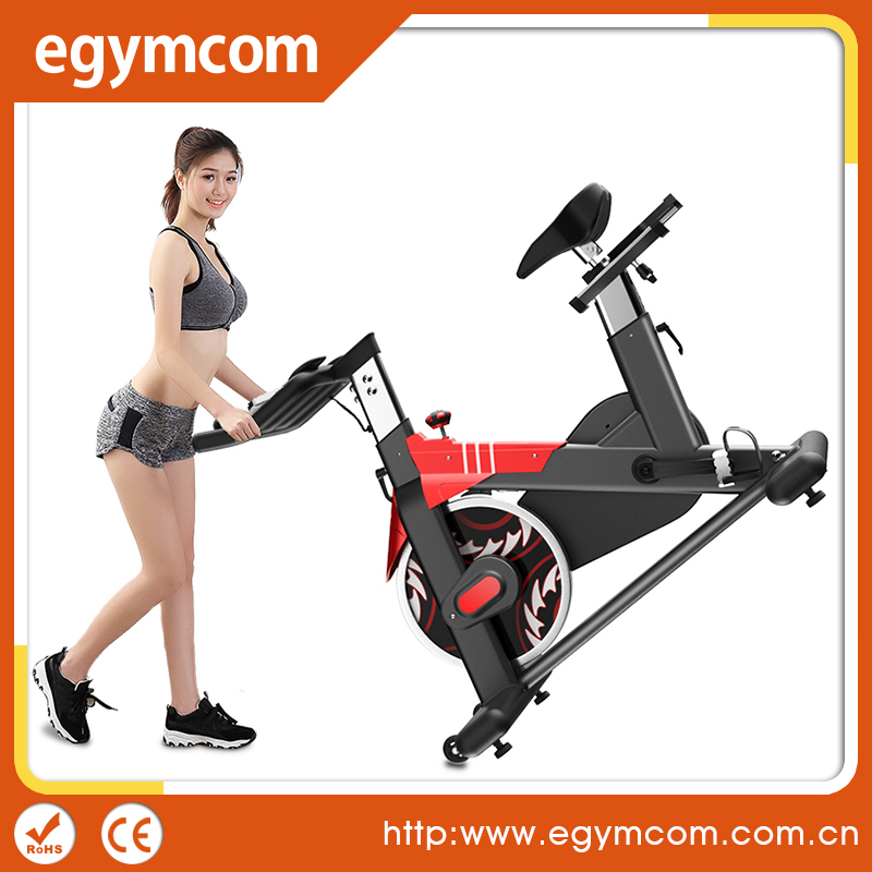 Commercial Health & Fitness Indoor Stationary Cycling Bike for Aerobic and Cardio Exercise and Training
