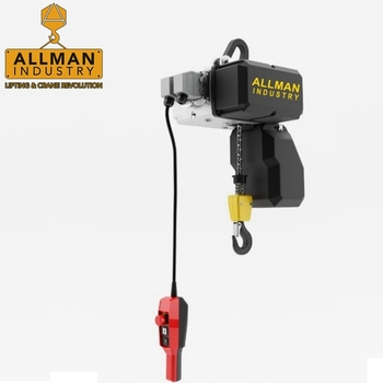ALLMAN 3phase ABM model light KBK crane using electric hoist 500kg