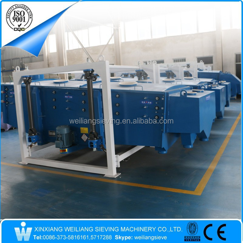 Xinxiang Weiliang waste material sand linear gyratory screening equipment
