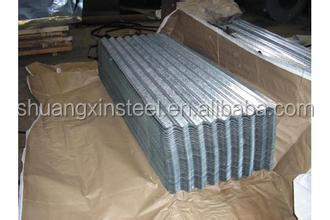 Manufacturer directly supply new product corrugated gi plain sheet