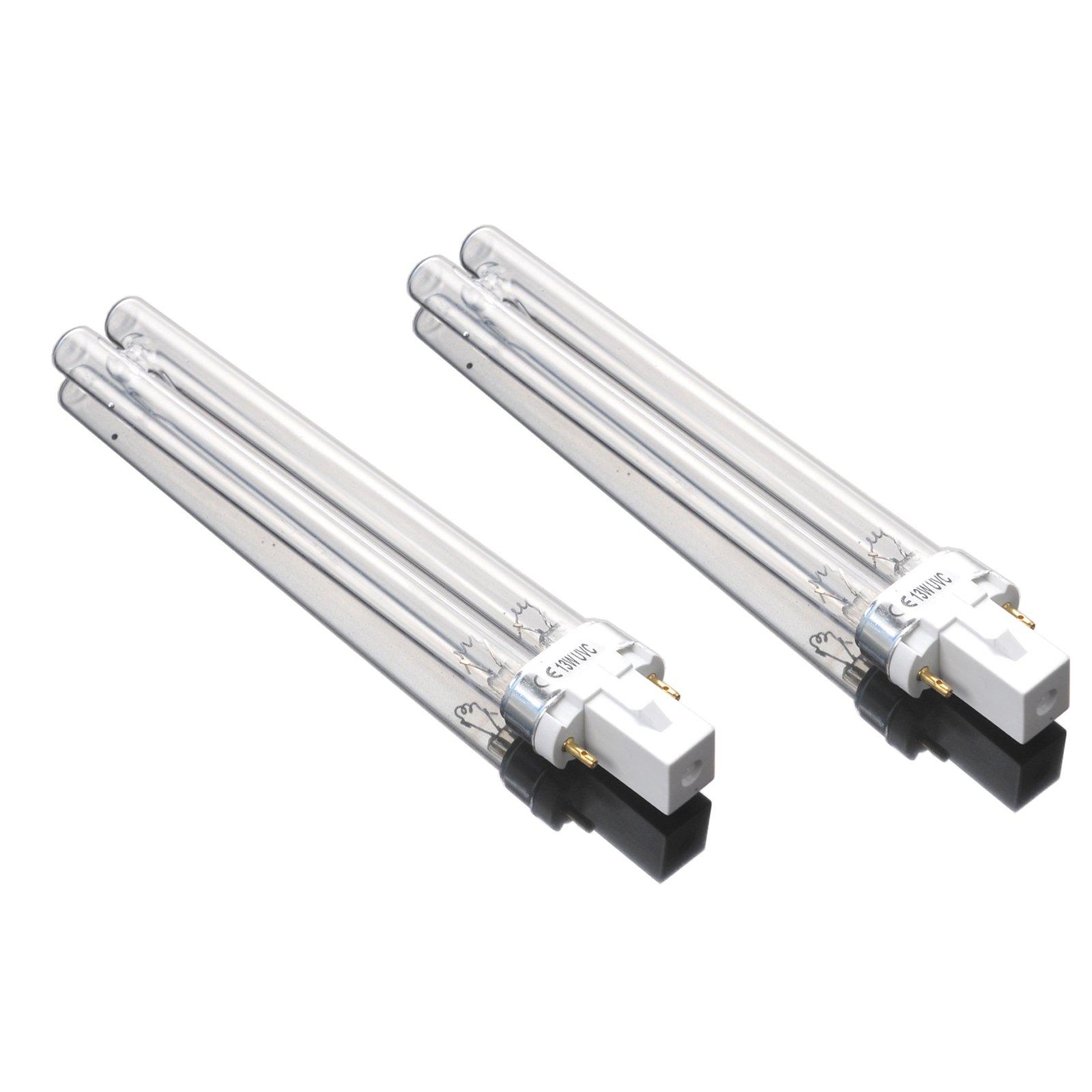 AQUANEAT 13 Watt Replacement UV Bulb G23 2 Pin Base for SUNSUN Pond Filter UV Sterilizer JUP-23