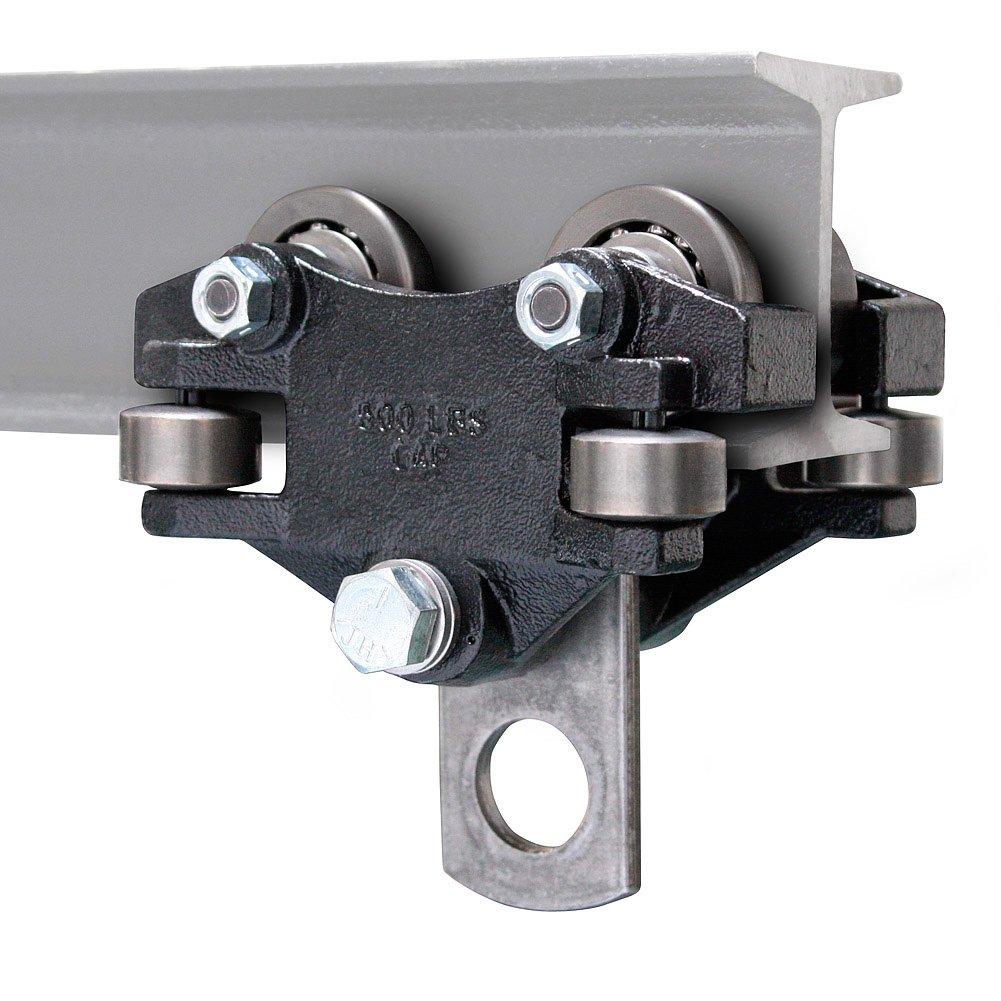 Pacline 09-012-00001, Hand Push Beam Trolley, 1/4 Ton Capacity