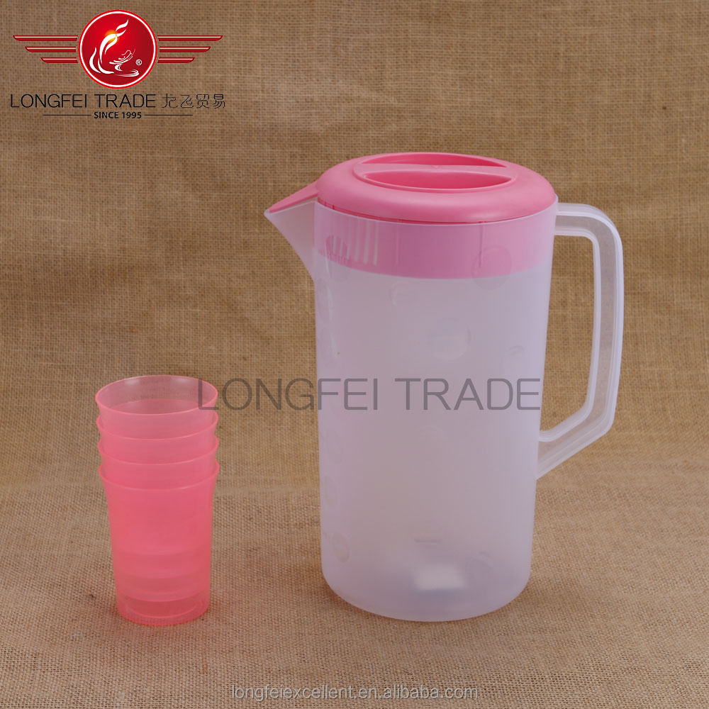 white food grade pink lids cheap plastic cool water jugs