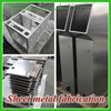 Product the high quality custom aluminum sheel fabrication/steet metal fabrication