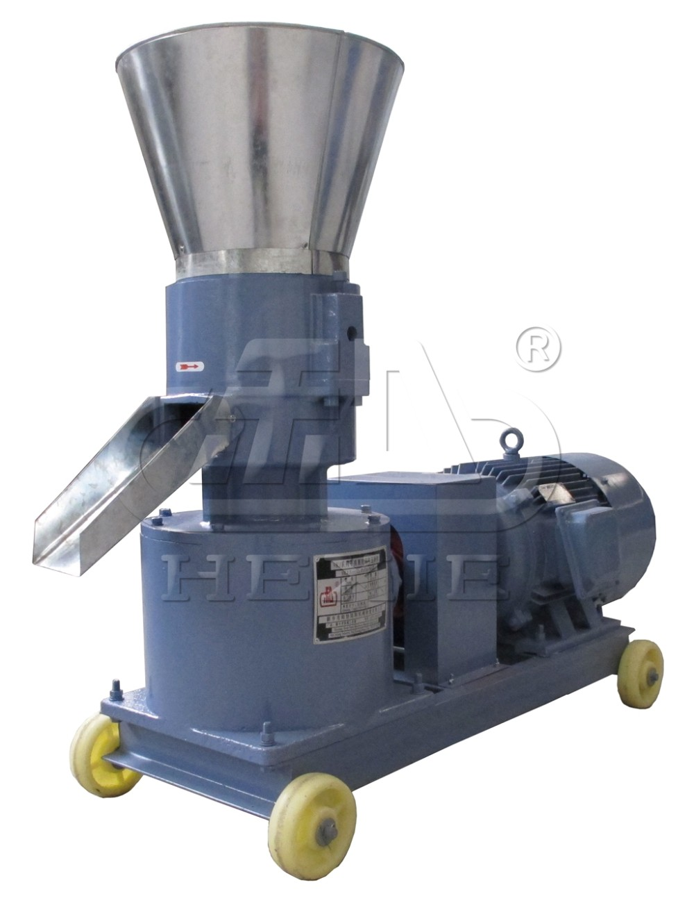 used pellet machine