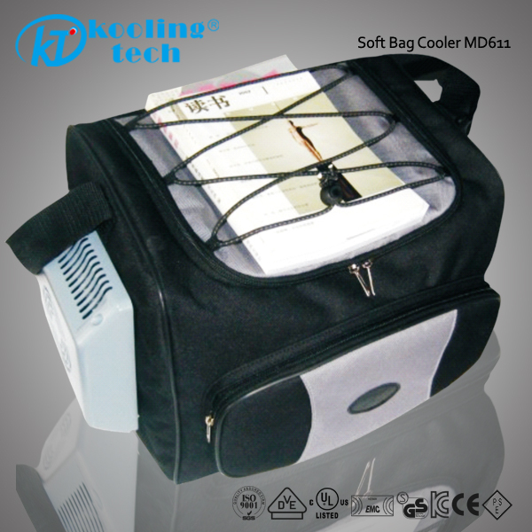 Wine Can Cooler Bag Electric Zip Lock Freezer For Travel
