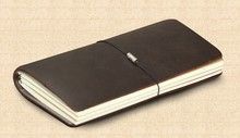 midori notebook genuine leather refillable leather notebook