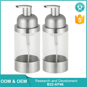 Made In China Free Samples 30g Stainless Steel 304 Glass Bottles Kitchen Liquid Soap Dispenser Pump Buy Stainless Steel Soap Dispenser Liquid Soap