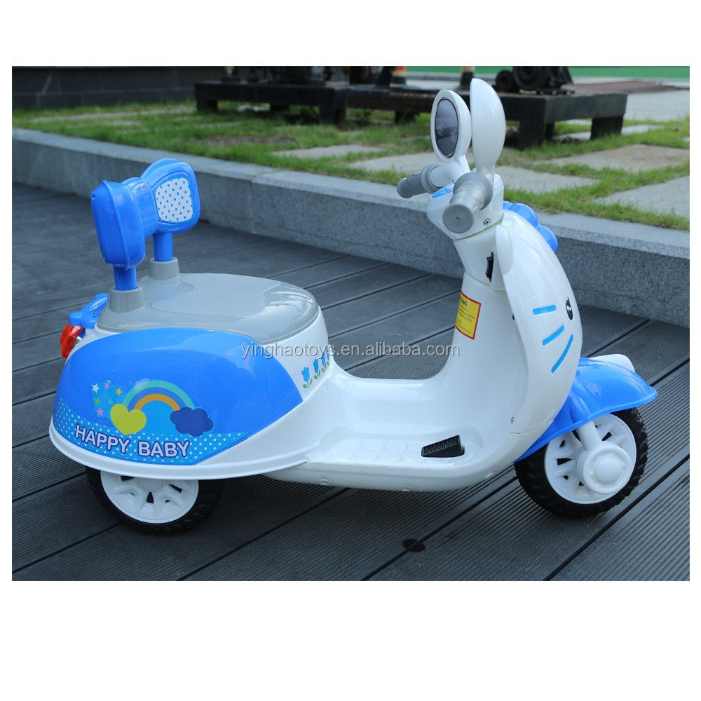 Baby 6V Battery Operated Ride On Scooter Kids Ride On Electrical Power Control Ride On Bike