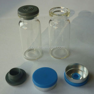 YBB standard USP type 1 ,10ml glass vial
