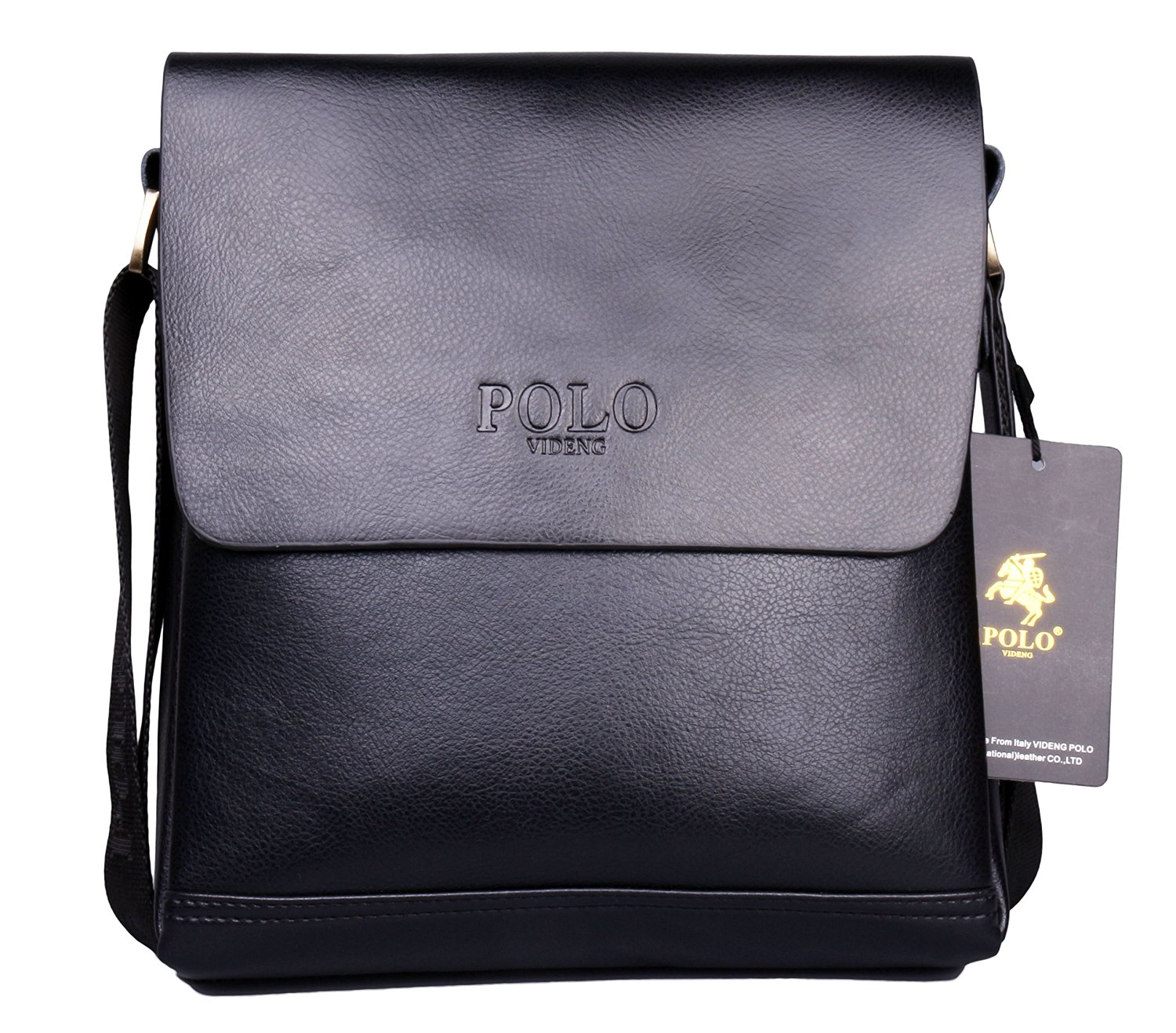 a894392c08ef VIDENG POLO® PL348 Hotest Top Luxury Genuine Leather Men s Briefcase  Shoulder Messenger Business Bag From