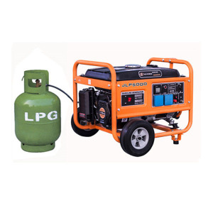Portable high quality LPG generator 3kW with BIG fuel tank liquid petrol gas genset