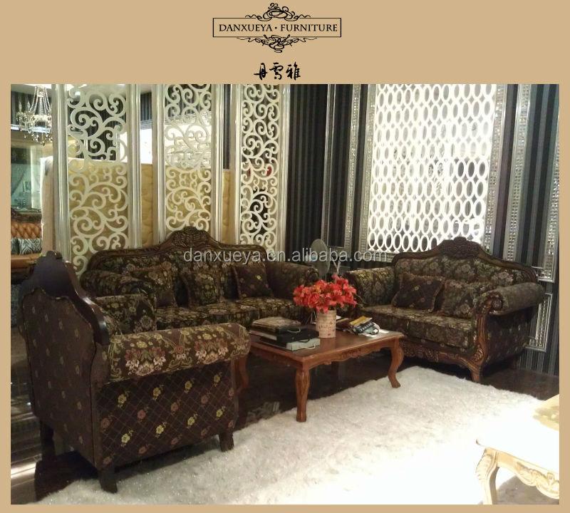 DXY 845# Antique Style Sofa Living Room Furniture Dubai