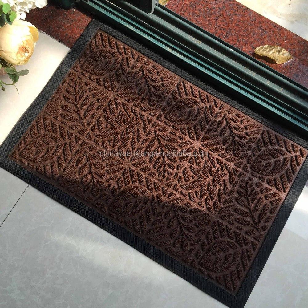 slip resistant rubber backed floor mats for aldi mohawk walmart