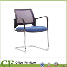 Ergonomic Fixed Low Back Office Fabric Visitor Chair for Office Meeting