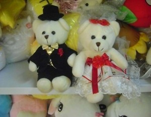 DIY 3D Photo Face Doll Wedding Bears