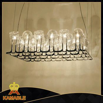 Faceted Glass Crystals Oversized Flushmount Evokes The Lighting In ...