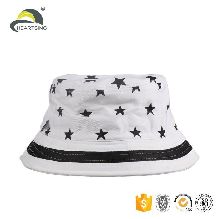 custom plain golf white waxed canvas kids plain caps bucket hat with  drawstring 662f6cc0aa1