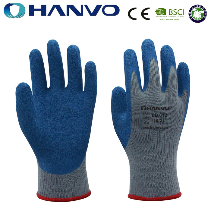 Wholesale HANVO brand CE certified hand job cheap latex gloves