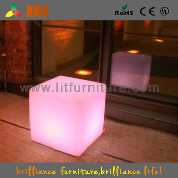 Event Decorating Supplies Led Bar Cube Chairs,Illuminated Cube Stool ...
