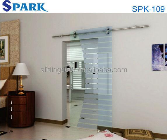 Japon style porte coulissante en verre pour la maison for Porte coulissante pour petite salle de bain