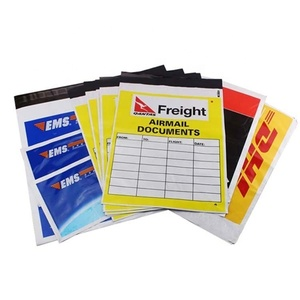 Custom Logo Printed DHL UPS Express Shipping Envelope Packaging Poly Mailer Plastic Mail Mailing Courier Bag