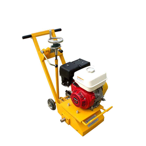 Road marking paint remover machine for traffic line