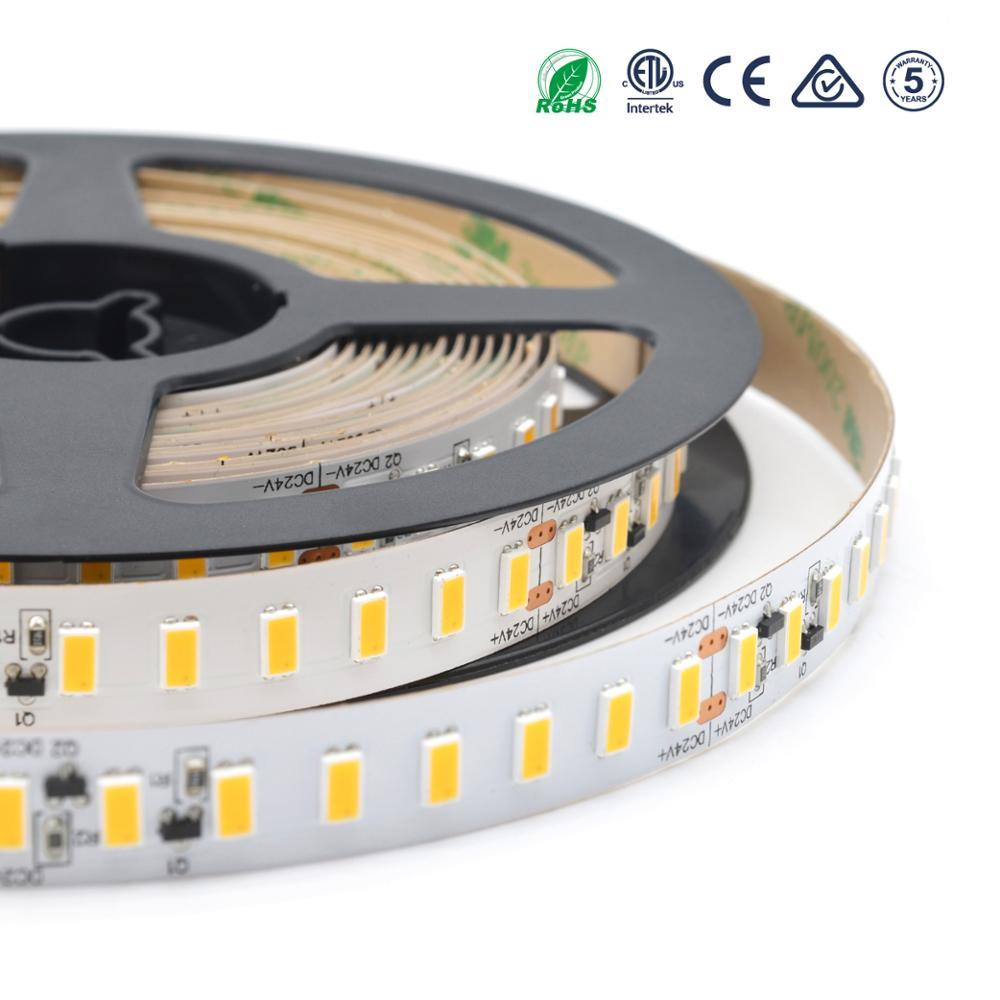 Brand chip high efficiency 150lm/w 5630 led strip light shenzhen