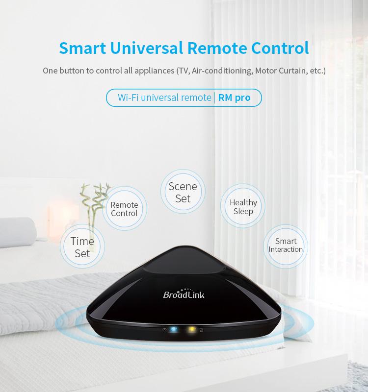 Broadlink Rm Pro+ Smart Wireless Wifi/ir/rf Remote Control Home Switch  Automation Broadlink Rm-pro Wireless Remote Controller - Buy Broadlink Rm