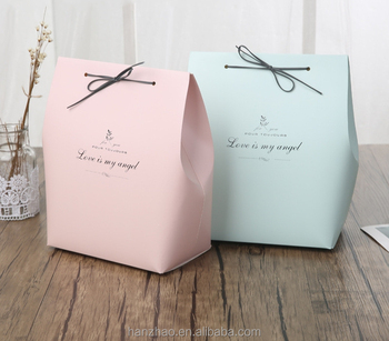 Love Bag Shaped Paper Chocolate Bo For Wedding Gift Souvenir Whole