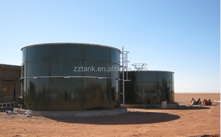 Bolted Steel Grain Storage Silos For Sale